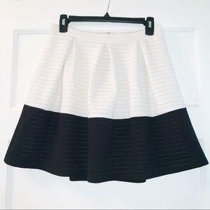 miami Color Block Mini Skirt